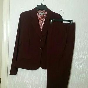 Jacket and pant ensemble